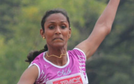 Olympian Anilda Thomas (Athletics 400m)