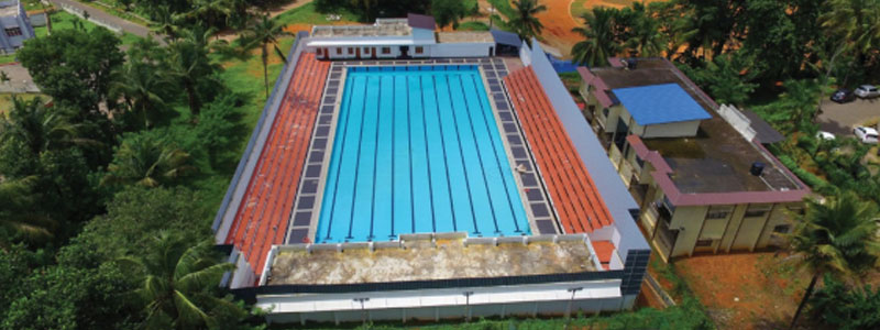 10 Lane Swimming Pool of International Standards